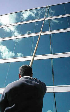 commercial window cleaners east london